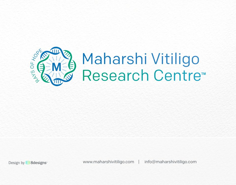 Logo Design for The Largest Chain of Vitiligo Clinic in India by 8Designs Mumbai