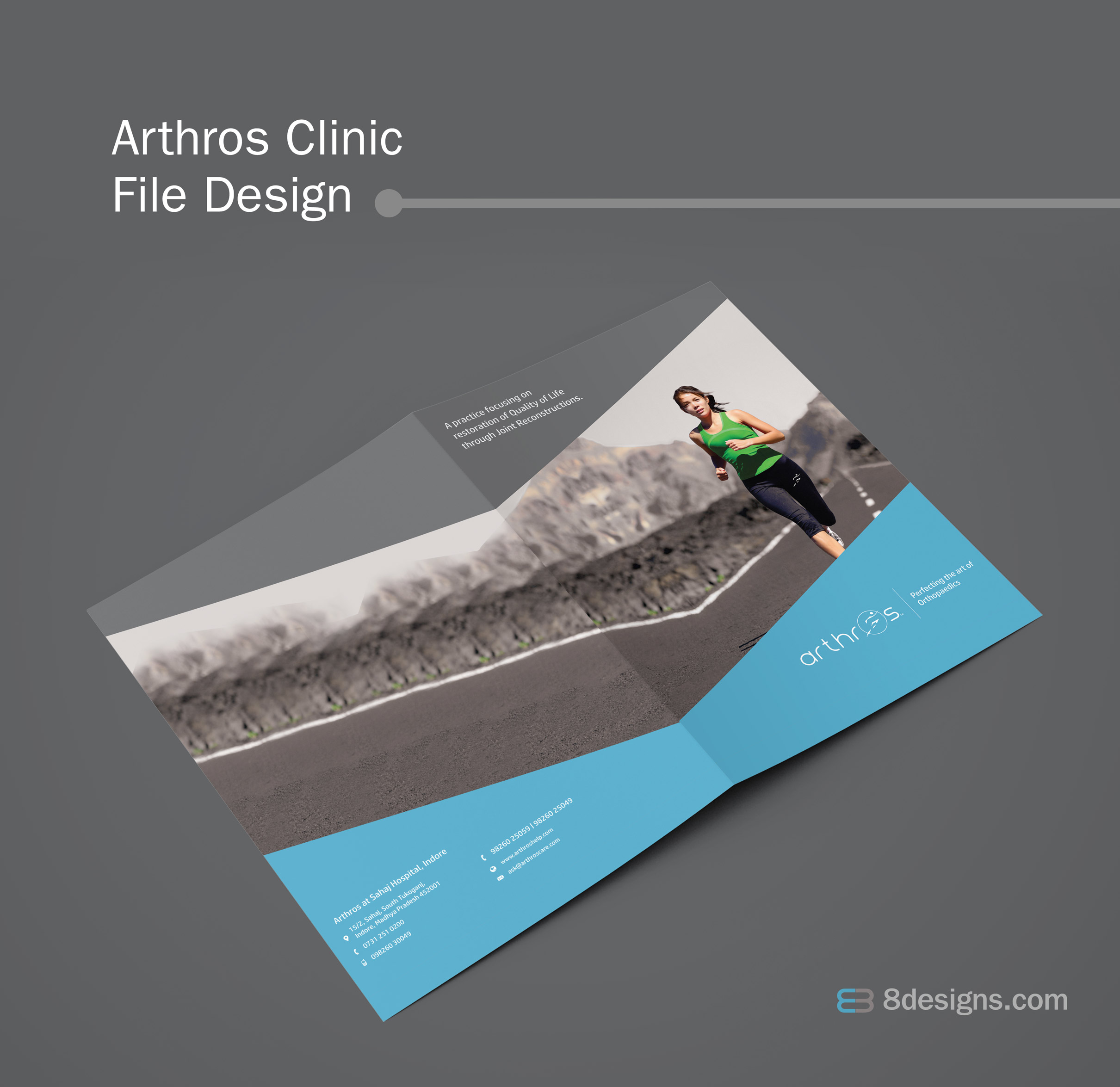 Clinic File Design, Arthroscopy Surgeon File Design