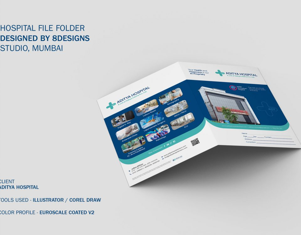 Hospital File Folder Design and Printing, Mumbai, India
