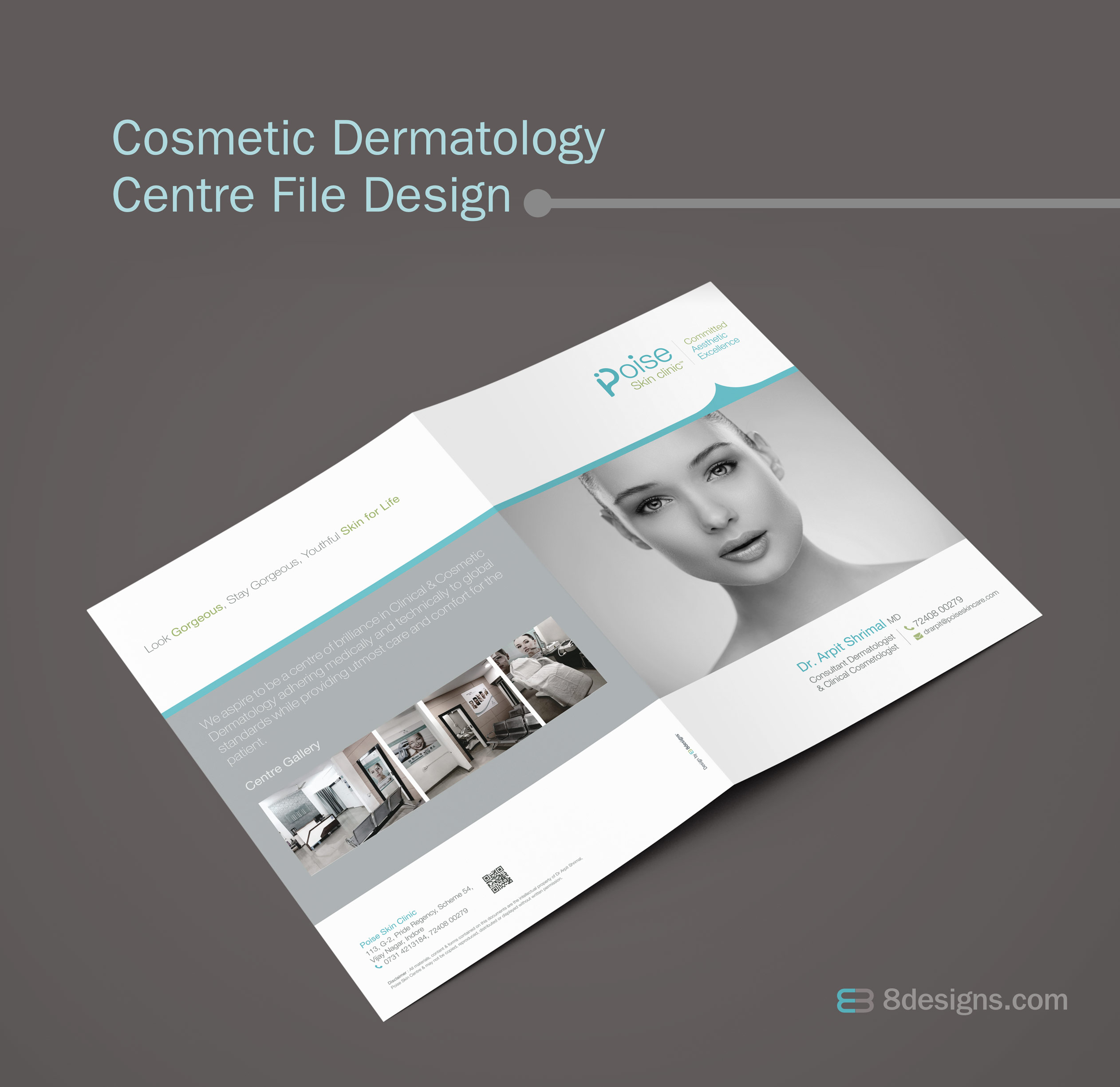 Clinic File Design, Skin Clinic File Design